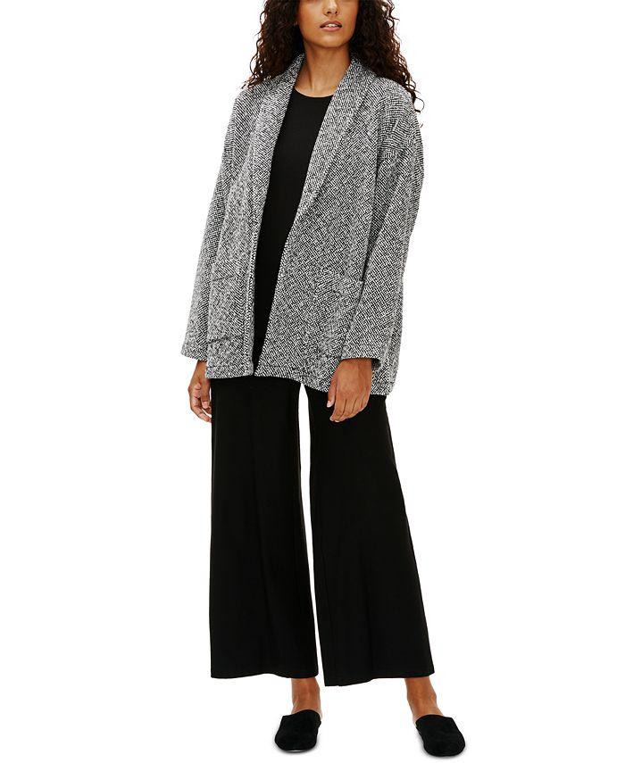 Eileen Fisher - Organic Roomy Shawl-Collar Jacket