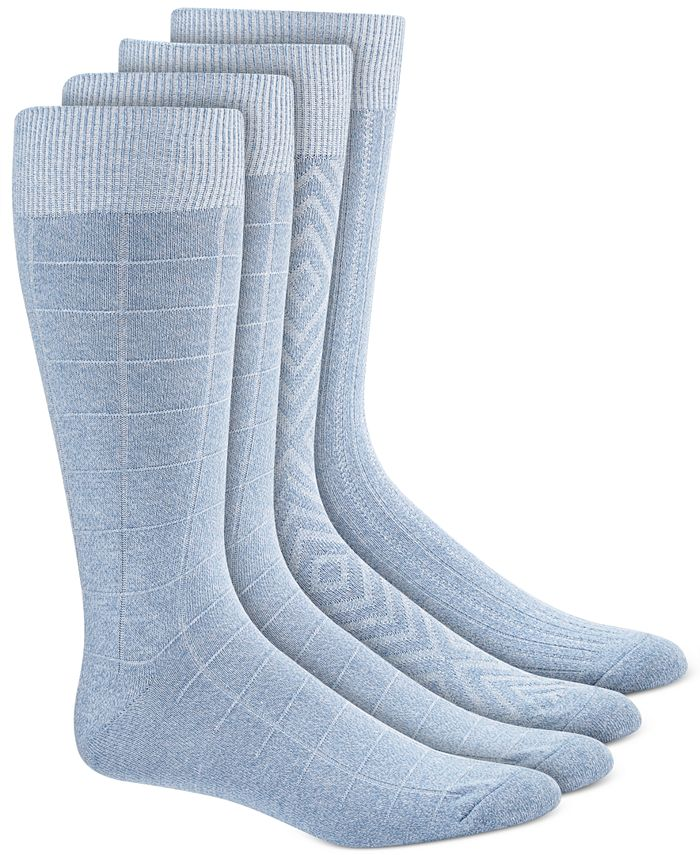 Alfani - Men's 4-Pk. Textured Socks