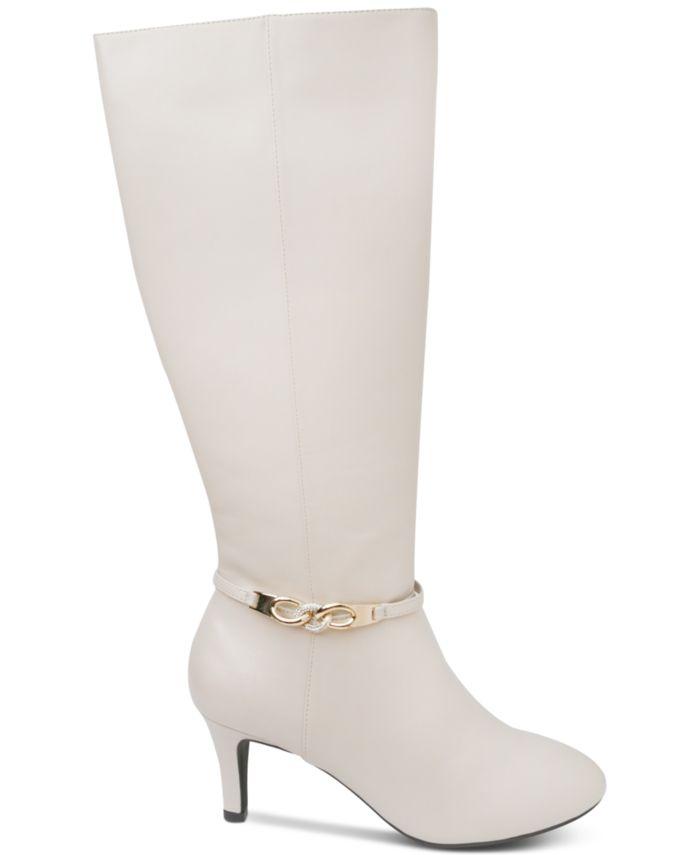 Karen Scott Hanna Dress Boots, Created for Macy's & Reviews - Boots - Shoes - Macy's