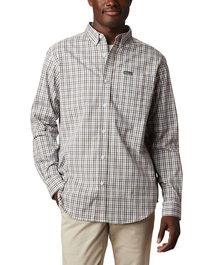 Columbia - Men's Rapid Rivers II Checked Long-Sleeve Shirt