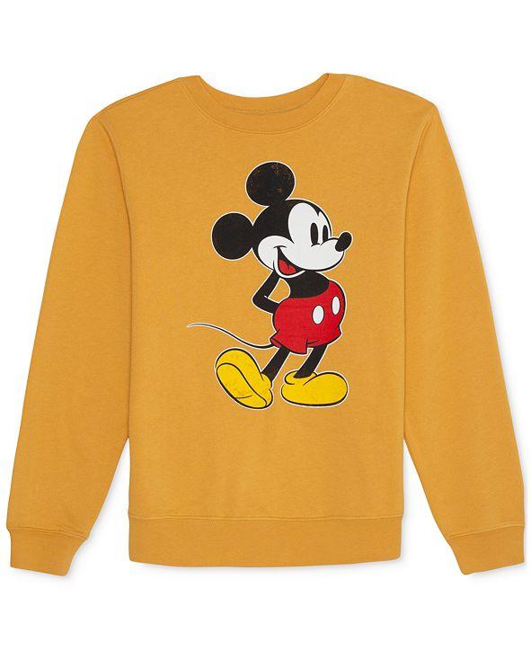 Disney Juniors' Mickey Mouse Fleece Sweatshirt