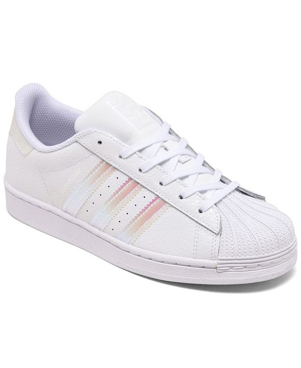adidas Little Girls Superstar Casual Sneakers from Finish Line