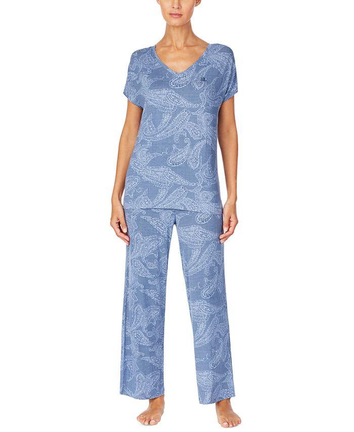 Lauren Ralph Lauren - Printed Pajama Set