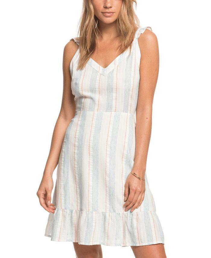 Roxy - Juniors' Sunday With You Striped Dress