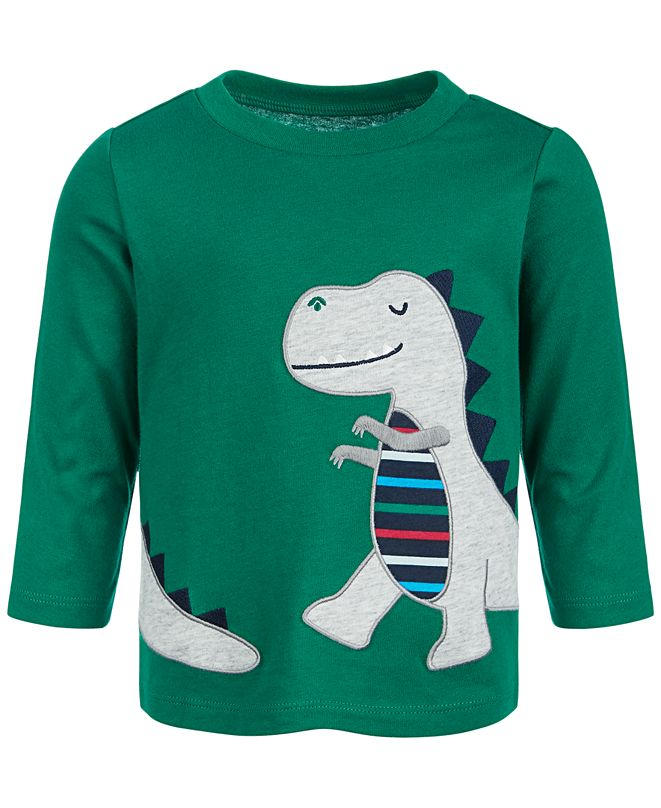 First Impressions Baby Boys T-Rex T-Shirt, Created for Macy's
