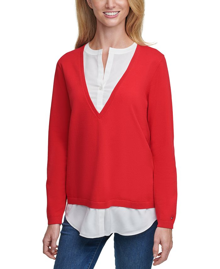 Tommy Hilfiger - Layered-Look Sweater