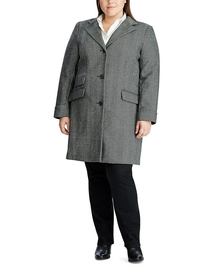 Lauren Ralph Lauren - Plus-Size 3-Button Reefer