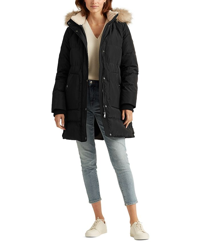 Lauren Ralph Lauren - Hooded Down Coat