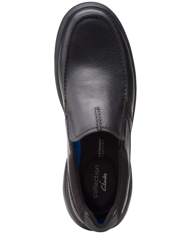 Clarks Men's Bradley Free Leather Slip-On & Reviews - All Men's Shoes - Men - Macy's