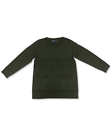Karen Scott Crewneck Pocket Sweater, Created for Macy's