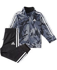 Adidas Baby Boys Zip Front Classic Camo Jacket & Jogger Set