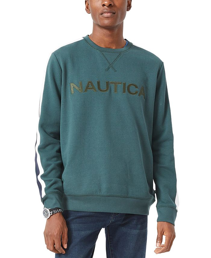 Nautica - Men's Embroidered Logo Fleece Sweatshirt