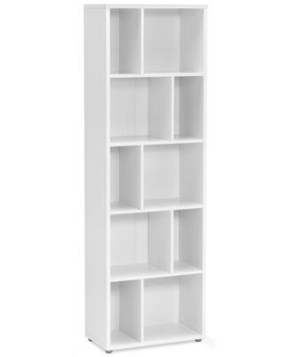 Fresno Ready-to-Assemble 4-Shelf Bookcase, Direct Ship