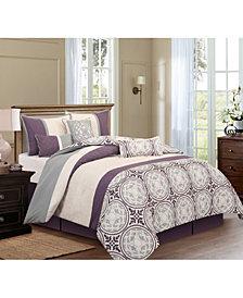 Nanshing Athens 7-Piece King Comforter Set