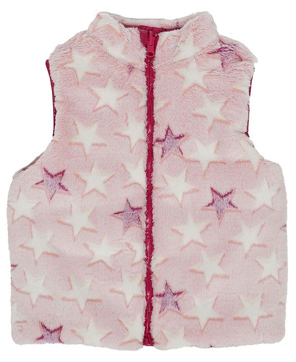 Epic Threads Little Girls Full Zip Reversible Vest