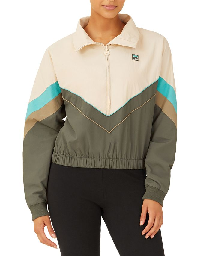 Fila - Chiaki Colorblocked Half-Zip Jacket