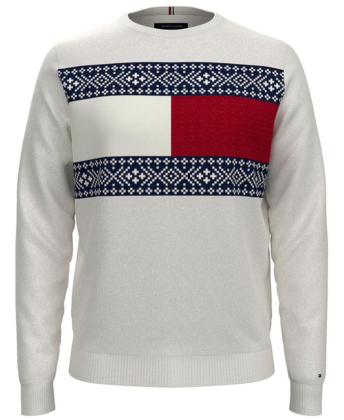 Tommy Hilfiger - Men's Regular-Fit Fair Isle Sweater