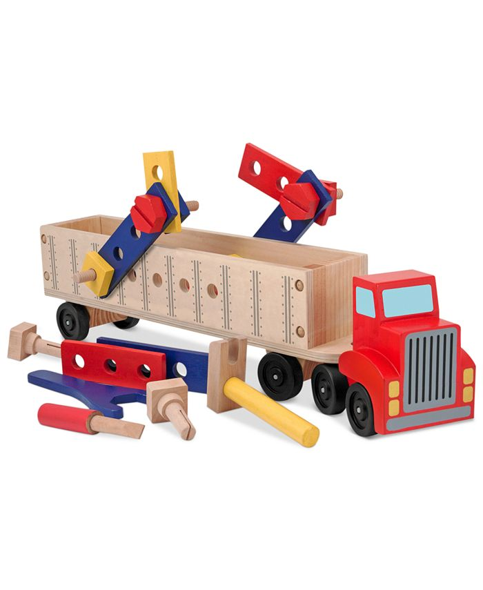 Melissa and Doug - Kids Toy, Big Rig Building Set
