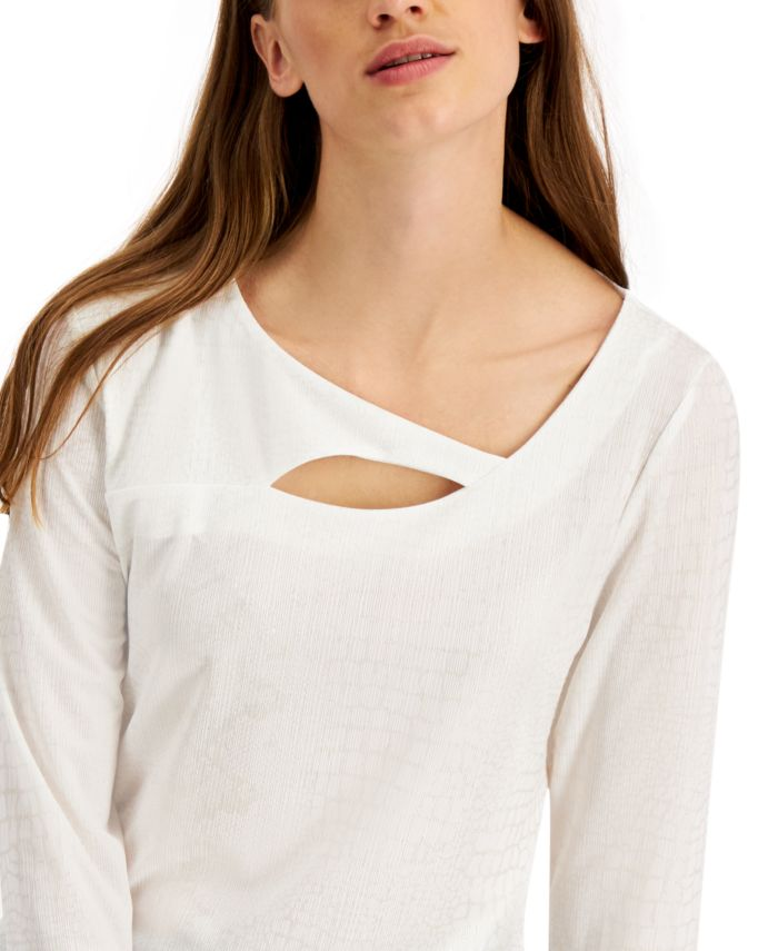 JM Collection Cut-Out Top, Created For Macy's & Reviews - Tops - Women - Macy's