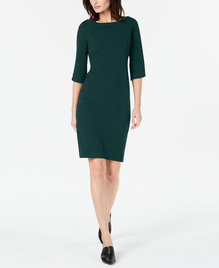 Calvin Klein - Tulip Sleeve Sheath Dress