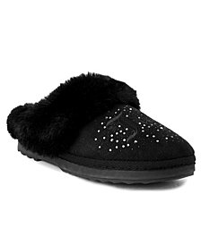 Juicy Couture Women's Jester Plush Slippers