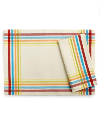 Fiesta Table Linens Classic Plaid Napkin