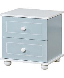 Furniture of America Jimney 2-Drawer Nightstand