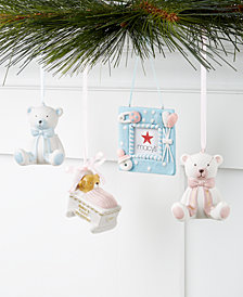 Holiday Lane Baby's First Ornament Collection, Created for Macy's