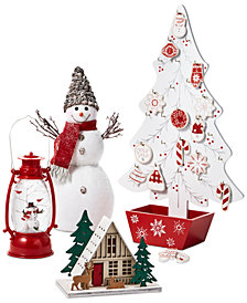 Holiday Lane Chalet Décor Collection, Created for Macy's