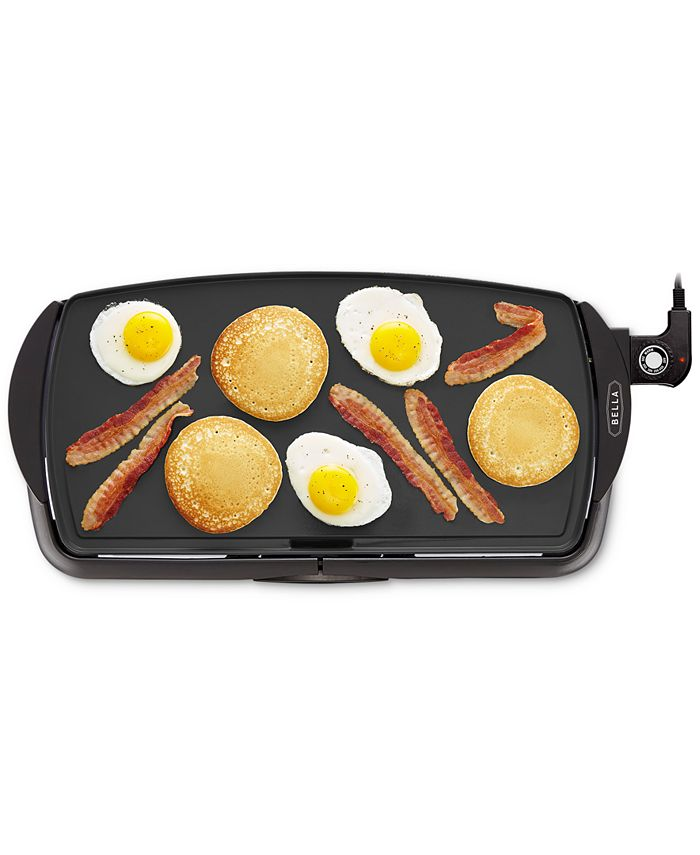 Bella 10 5 X 20 Nonstick Electric Griddle Reviews Small Appliances Kitchen Macy S
