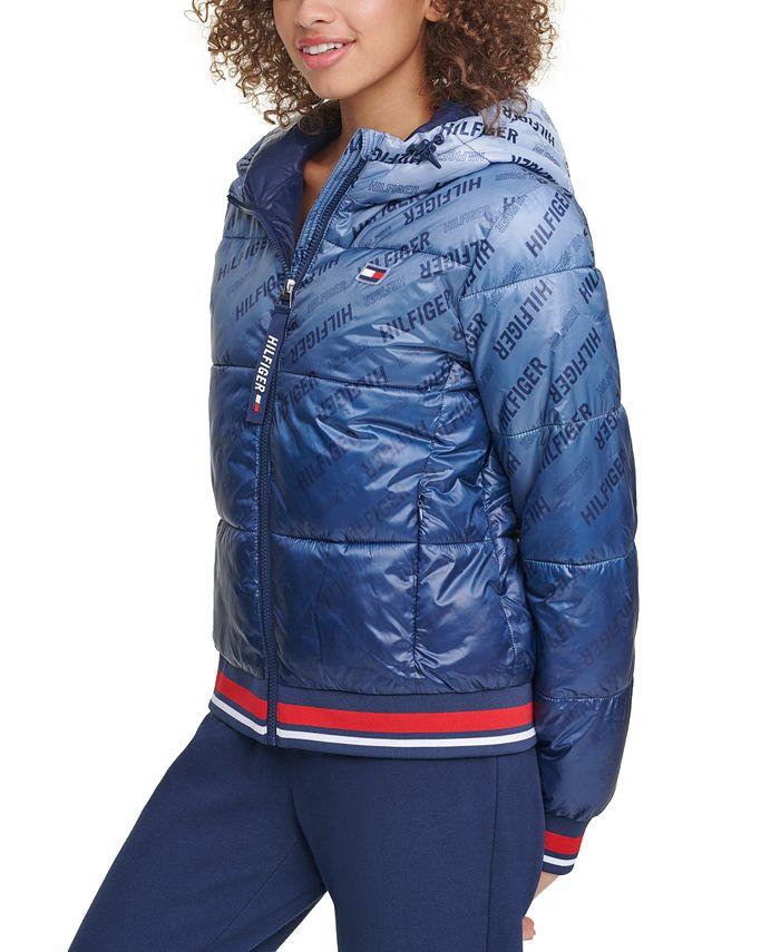 Tommy Hilfiger - Cropped Puffer Logo Jacket