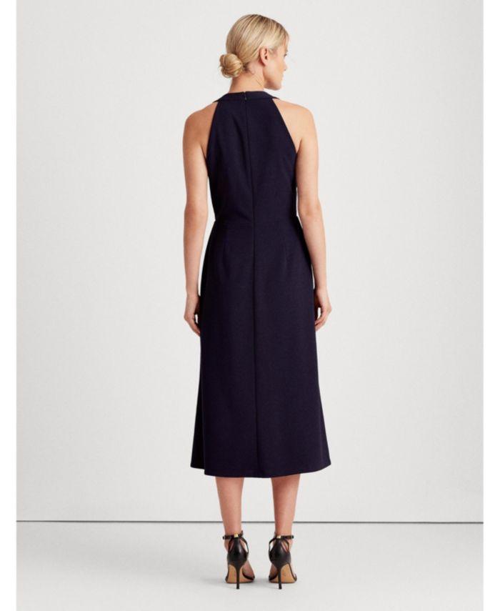Lauren Ralph Lauren Crepe Sleeveless Dress & Reviews - Dresses - Women - Macy's