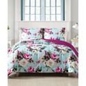 Hallmart Collectibles Ambrosia 2-Piece Reversible Twin Comforter Set