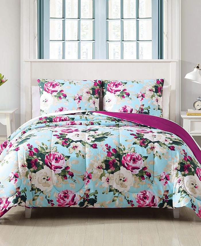 Hallmart Collectibles - Ambrosia 3-Pc Comforter Set