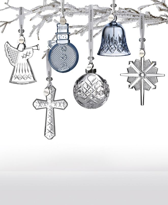 Waterford 2020 Crystal Ornament Collection
