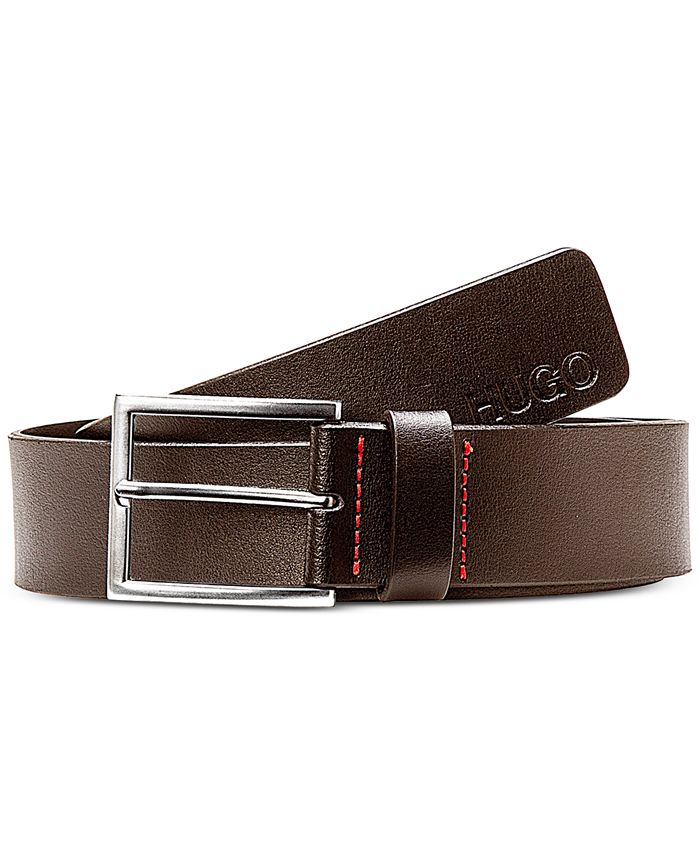 BOSS - Men's Giaspo Smooth Leather Belt