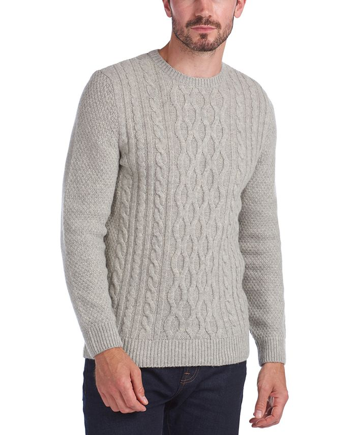 Barbour - Men's Chunky Cable-Knit Sweater