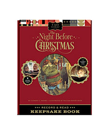FAO Schwarz Book A Night Before Christmas Record and Read