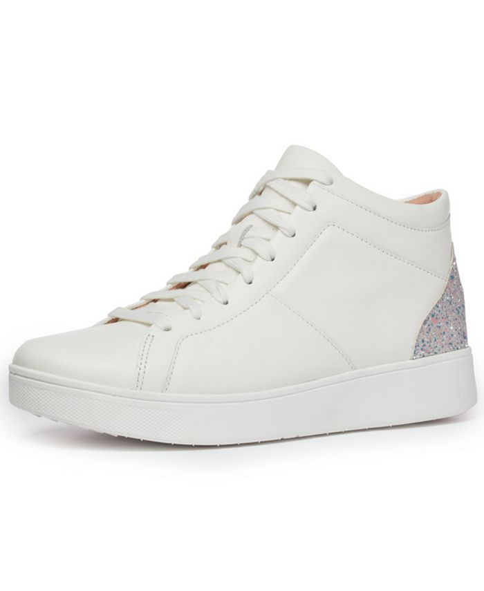 FitFlop - Women's Rally Glitter High-Top Sneakers