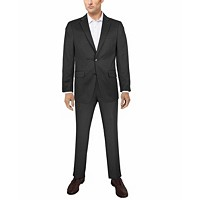 Deals on Van Heusen Men's Flex Plain Slim Fit Suits + $10 Macys Money