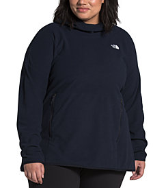 The North Face Women's Plus Size TKA Glacier Pullover Hoodie