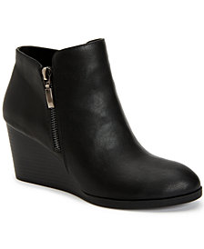Style & Co Wynonaa Wedge Booties, Created for Macy's