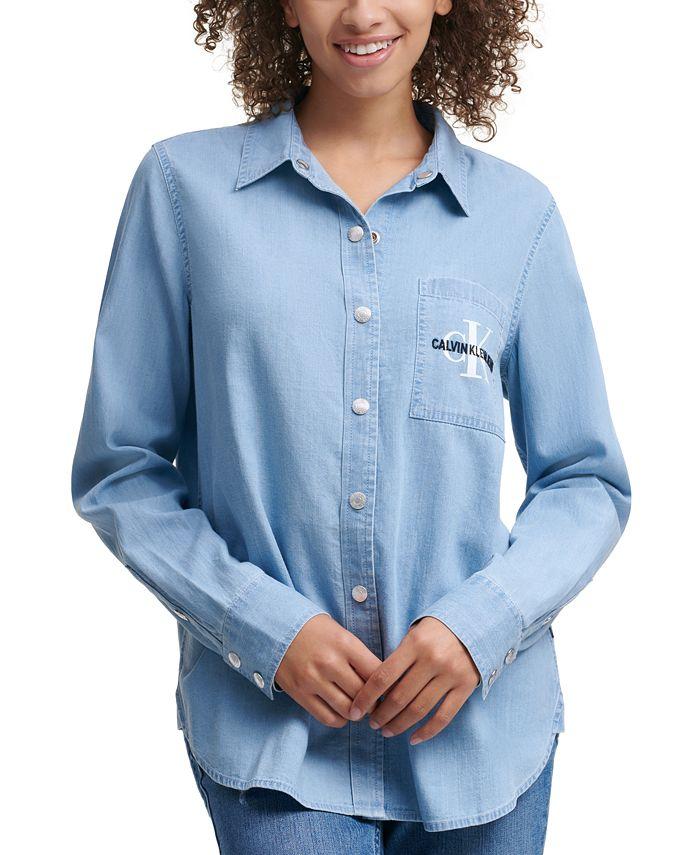 Calvin Klein Jeans - Button-Front Top