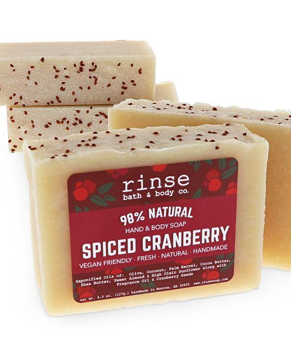 Rinse Bath & Body Co. Spiced Cranberry Soap Bar
