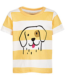 First Impressions Baby Boys Doggie Cotton T-Shirt, Created for Macy's