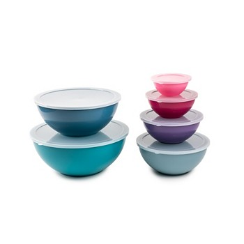 12-Pieces Core Home Mixing Bowl Set with Lids