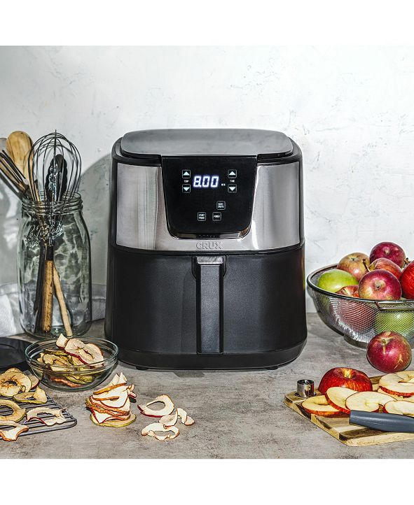 Crux 6.3-Quart Digital Touchscreen Electric Air Fryer, Created for Macy's