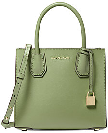 Michael Michael Kors Mercer Small Leather Messenger