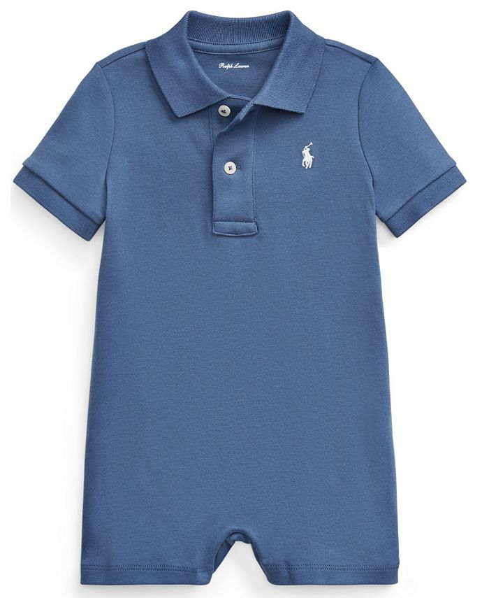 Polo Ralph Lauren - Baby Boys Cotton Interlock Polo Shortall