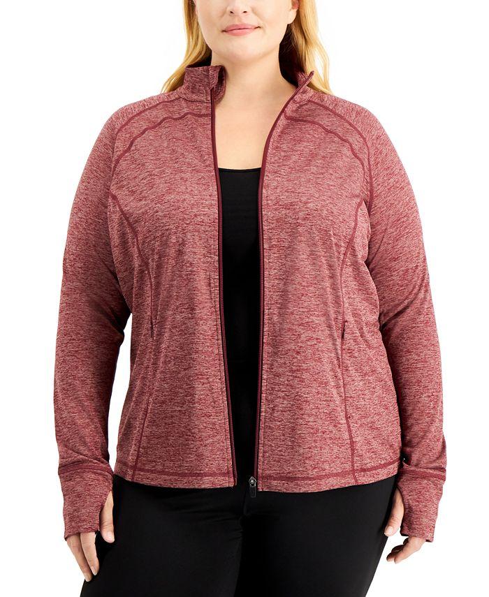 Ideology - Plus Size Performance Zip Jacket